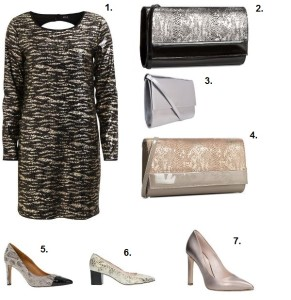 Avanti złota sukienka