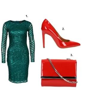 Avanti zielona sukienka